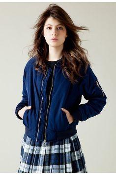 スウィート&ミニマム。 / fifth MA-1 jacket on ShopStyle