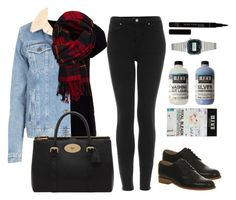 """Untitled #1060"" by beatifuletopshop ❤ liked on Polyvore featuring Topshop, Abercrombie & Fitch, Mulberry and Casio"