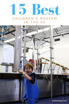 We've shared the 15 best children's museums in the US. Discover our favourites and the most unusual children's museums in the USA. Family Road Trips, Road Trip Usa, Museums, North America, This Is Us, Adventure, Children, Boys, Amazing