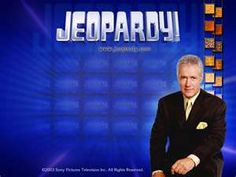 jeopardy tv game show....this is for my buddy, Tracy...welcome to 9-9!