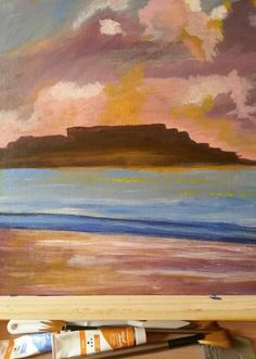 My first landscape.  Thanks Will Kemp