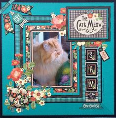Raining Cats & Dogs layout by Sue Dix #graphic45