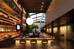 KAA restaurant designed by Sao Paulo's own Arthur de Mattos Casas of Studio São Paulo, Brazil