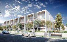 Conrad Architects Mornington Townhouses 01