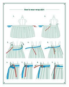 Skirt Patterns Sewing, Clothing Patterns, Wrap Skirt Patterns, Womens Skirt Pattern, Long Dress Patterns, Skirt Sewing, Blanket Patterns, Crochet Patterns, Diy Clothing