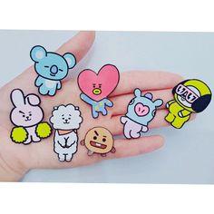 Jimin, Bts Bangtan Boy, Jikook, K Pop, Bts Drawings, Kpop Merch, Bts Chibi, Cute Stickers, Stationery