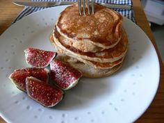 Pancakes aux pommes et cannelle