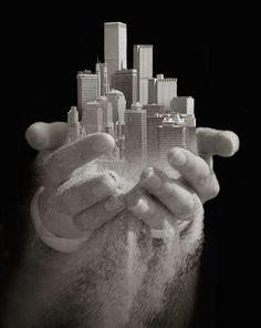 """Urban Offering"" by Thomas Barbey So Cool! Almost put it in Architecture instead."