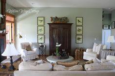 Pretty living room redo