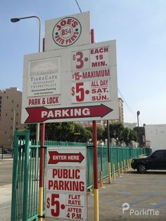 Get the hassle free parking at Downtown Los Angeles.  Our parking lots are located all over downtown LA making it easier than ever for you to find parking close to your desired location.