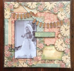 Graphics 45 A Ladies Diary layout by Trish