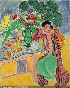 La Robe Persane, Henri Matisse - huile sur toile