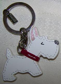 Coach Westie key chain - I want this!!! It looks like my puppy!!
