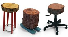 Repurposed furniture by & Made. Via...