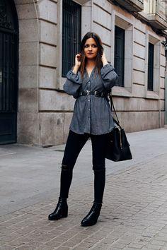 Hoy os enseño las fotos del look que llevé el sábado pasado para salir a comer y a dar una vuelta por Madrid.