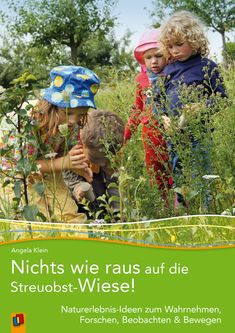 Nichts wie raus auf die Streuobst-Wiese! Dieses #Praxisbuch lädt ein zu Entdeckungsreisen mit Kindern in der Natur. Durch eine Fülle praxiserprobter Vorschläge, die mit wenig Aufwand und einem geringen biologischen Fachwissen direkt in der #Natur umsetzbar sind, werden Kinder mit dem Lebensraum #Wiese vertraut. Spielerische und forschende Methoden wechseln sich dabei ab mit #Bewegung und Wahrnehmung rund um Bäume, Tiere und Pflanzen. #Kita #Grundschule