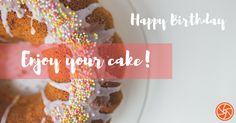 cool Happy Birthday, Enjoy Your Cake