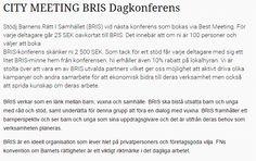 BRIS Dagkonferens, Va med och göra skillnad! #BRIS #konferens #stockholm