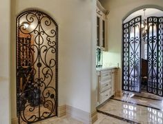 Pantry Those Iron Doors Wrought Gates Tuscan House Home