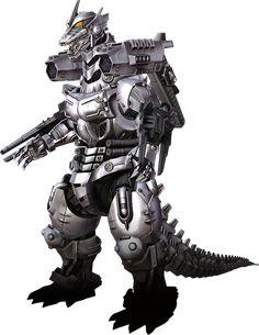 Godzilla The Video Game: Kiryu AKA MechaGodzilla 3 by sonichedgehog2.deviantart.com on @deviantART