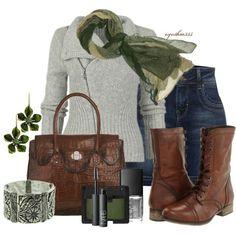Cute Winter Look :) Fall Winter Outfits, Autumn Winter Fashion, Winter Style, Autumn Style, Winter Boots, Fall Fashion, Classy Outfits, Cute Outfits, Weekend Wear