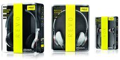 JabraRevo - headphones packaging The Dieline -