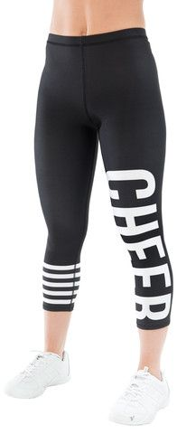 NEW Varsity Shop Cheer Sporty Stripe Leggings