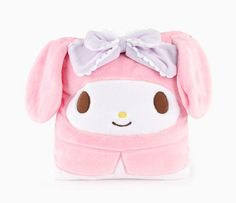 My Melody Foldable Blanket: Fancy Bow