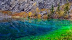 Clearwater Lakes Near Canmore, Alberta, Canada
