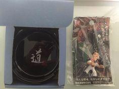 Antonio Inoki charm and ashtray NJPW NEW JAPAN PRO WRESTLIN IGF F/S