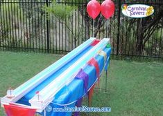 Diy Carnival Game Idea Pig Races Halloween Party Games