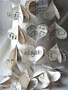 Sheet Music Garland