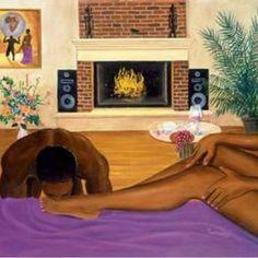 """(TAG THE ARTIST) #BlackArt #Art #Blackwoman #BlackBeauty #BlackQueen #BlackKing #IgArtist #ArtistAtWork #BlackMovement #BlackLove #BlackCouple…"""
