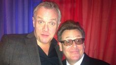 Greg Davies with Greg Proops Greg Proops, Greg Davies, Whose Line, Comedians, My Love, Bobs, Men, Squares, Guys