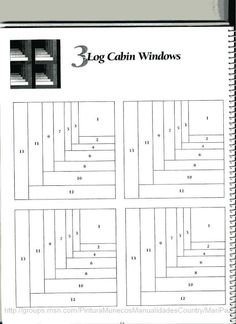 101 LogCabinBlocks - Aderita Rubio - Picasa Web Albums