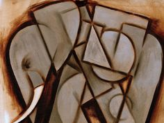 Elephant Painting - Tommervik Abstract Cubism Elephant Art Print by Tommervik Elephant Canvas Art, Canvas Wall Art, Wall Art Prints, Elephant Paintings, Canvas Prints, Minions, Geometric Elephant, Geometric Animal, Geometric Art