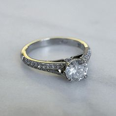 A beautiful round brilliant diamond set into our Xaniar Setting..#somethingnew #naveyaandsloane #custommade
