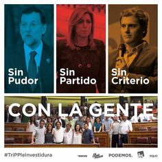 Nunca más un país sin su gente. #Podemos