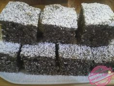 Poppy Cake, Torte Cake, Hungarian Recipes, Healthy Sweets, Coffee Cake, Food And Drink, Yummy Food, Cookies, Baking