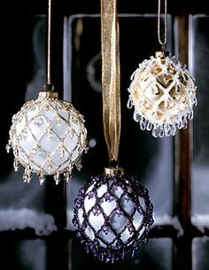 Beaded Ornaments (Download Tutorial)
