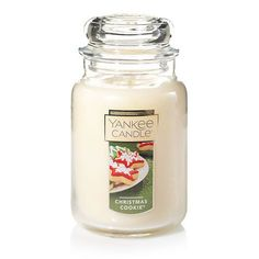 Christmas Cookie™ : Large Jar Candles : Yankee Candle