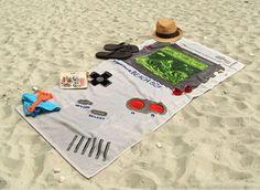 Game Boy Beach Towel   #Towelday  #Shutupandtakemymoney