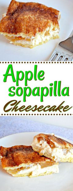 The Rise Of Private Label Brands In The Retail Meals Current Market Turn A Good Dessert Into An Amazing One By Adding Apple Filling To A Sopapilla Cheesecake With This Delicious Apple Sopapilla Cheesecake Recipe. So Quick And Easy Easy Desserts, Delicious Desserts, Dessert Recipes, Yummy Food, Mexican Desserts, Mexican Recipes, Brownie Recipes, Cheesecake Recipes, Apple Cheesecake