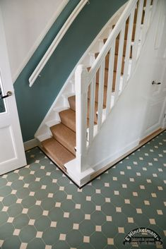 Shabby Chic, Tile Floor, Toilet, Stairs, Victorian, Flooring, Interior Design, Architecture, Bathrooms