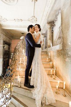 Claire Pettibone wedding dress | Matthew Ree