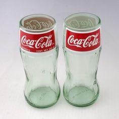 Repurposed Bottles Candles | Coca Cola Bottle Glasses