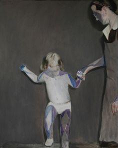 Bad child, 2010. 150 x 120cm.  Oil on canvas