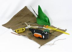 Baldrick's Escape Kit Blackadder Goes Forth Novelty Gift. £29.95, via Etsy.