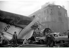 Park Slope plane crash in 1960. Two flights collided mid air on December 16 1960 one crashing on Staten Island and the other at Sterling and Seventh Avenue in Park Slope.  Photo credit: Allyn Baum NYT  #parkslope #brooklyn #jfk #laguardia #manhattan #history #downtown#newyorkcity #brooklynhistory #prospectpark #bklyn #7thavenueparkslope #gowanus #prospectheights #nychistory #parkslopebk by nycurbanism
