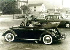 Vw Cabrio, Vw Vintage, Maybach, Vw Beetles, Old Photos, Cars Motorcycles, Dream Cars, Antique Cars, Porsche